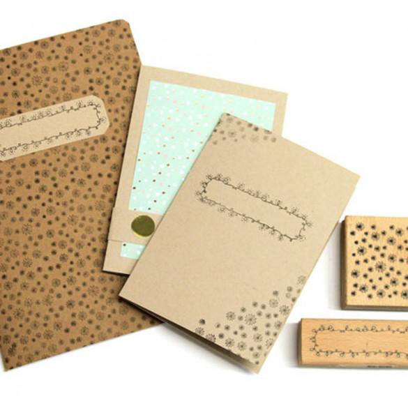Kreativset Notizbuch Box L
