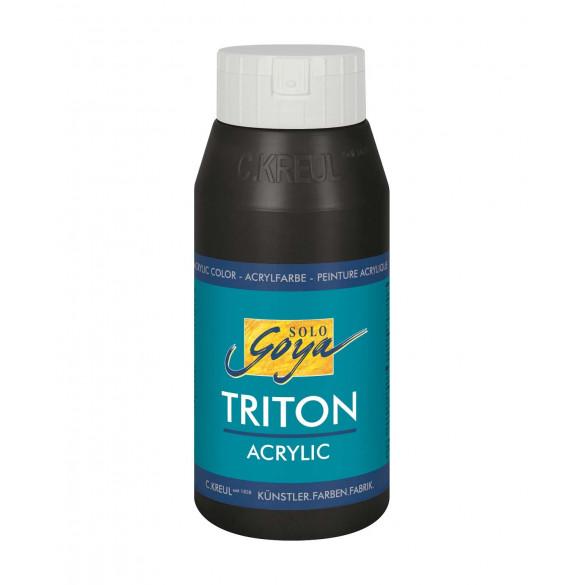 SOLO GOYA Triton Acrylic Schwarz 750 ml