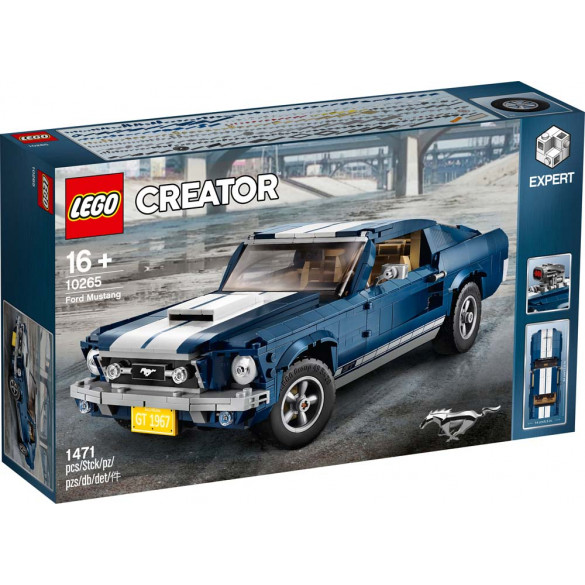 Creator Expert Ford Mustang Verpackung