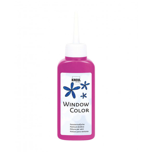 KREUL Window Color Pink 80 ml