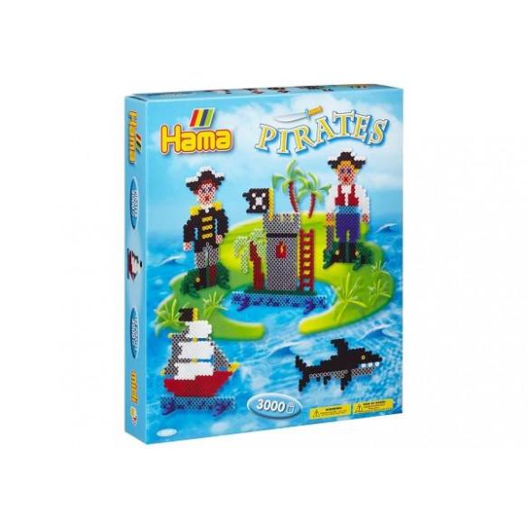 Bügelperlen Piraten