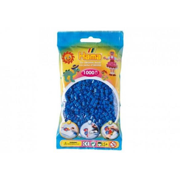 Perlen Hellblau