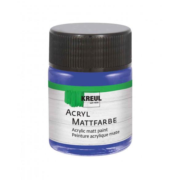 KREUL Acryl Mattfarbe Blau 50 ml