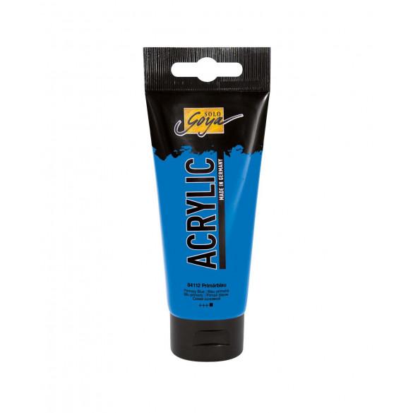 SOLO GOYA Acrylic Primärblau 100 ml Tube