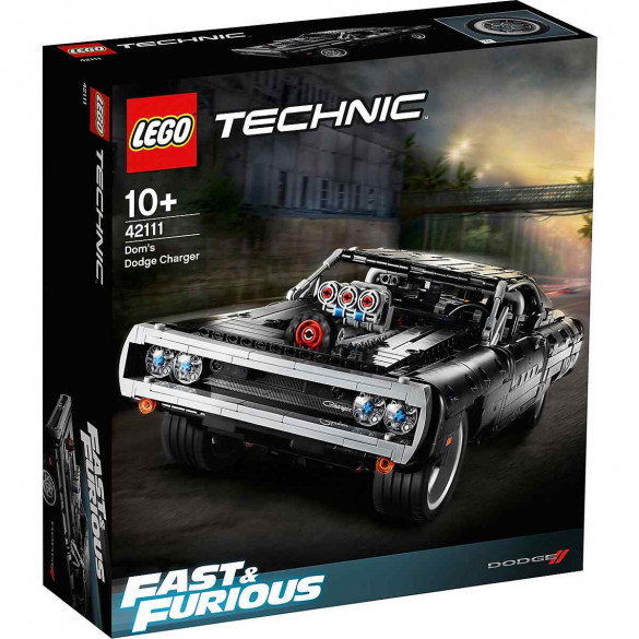 LEGO Technic Dom's Dodge Charger Verpackung