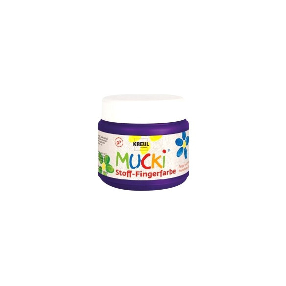 MUCKI Stoff-Fingerfarbe Violett 150 ml
