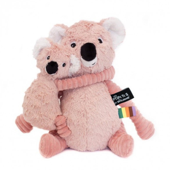Plüschtier Trankilou Koala rosa