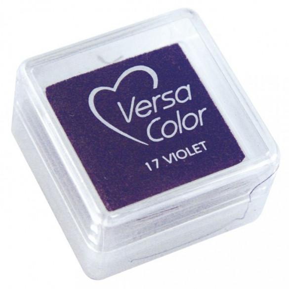 Stempelkissen Versacolor, violett