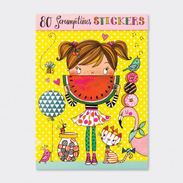 Stickers Girl & Watermelon