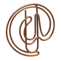 Büroklammern @-Symbol