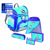 Step by Step Touch Schulthek Set 5-teilig Happy Dolphins
