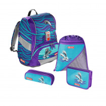 Step by Step Schulthek Set 2in1 Happy Dolphins