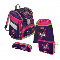 Step by Step Touch 2 Schulranzen-Set Shiny Butterfly 4-teilig