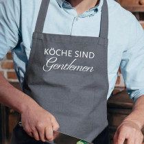 Küchenschürze Köche sind Gentlemen