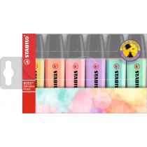 Stabilo Textmarker BOSS Pastell