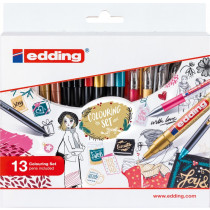 edding Colouring Promotion Set verpackung