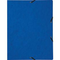 Biella Gummibandmappe Blau