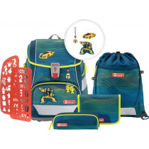 Schulrucksack Set 2in1 Plus Power Robot