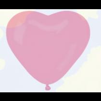 Herzballons Pink