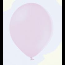 Rundballons Pastell Pink