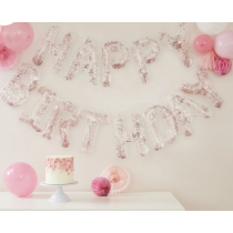 Folienbanner Happy Birthday