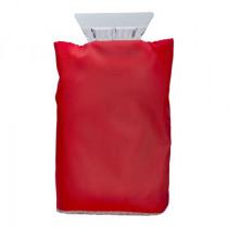 Eiskratzer mit Handschuh Rot