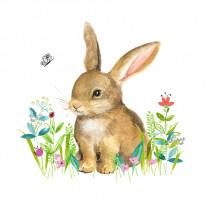 Serviette Little Bunny