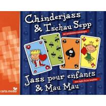 Chinderjass & Tschau Sepp mit französischen Karten