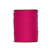 Papier Strickschlauch ø 4 mm pink