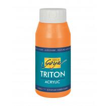 SOLO GOYA Triton Acrylic Echtorange 750 ml