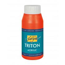 SOLO GOYA Triton Acrylic Echtrot 750 ml