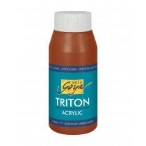 SOLO GOYA Triton Acrylic Oxydbraun dunkel 750 ml