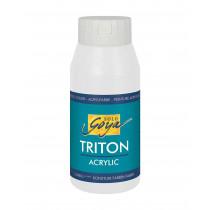 SOLO GOYA Triton Acrylic Weiss 750 ml