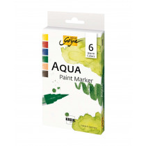 SOLO GOYA Aqua Paint Marker Warm Colors 6er Set