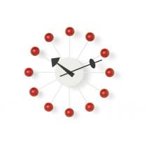 Wanduhr Ball Clock rot