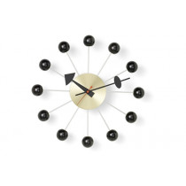 Wanduhr Ball Clock schwarz