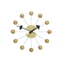 Wanduhr Ball Clock Kirschbaum