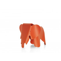 Eames Elephant (small), Poppy red