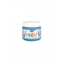 MUCKI Funkel-Fingerfarbe Diamanten-Blau 150 ml