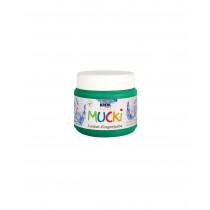 MUCKI Funkel-Fingerfarbe Smaragd-Grün 150 ml