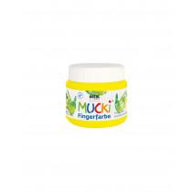 MUCKI Fingerfarbe Quietsch-Gelb 150 ml