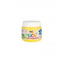 MUCKI Stoff-Fingerfarbe Gelb 150 ml