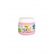 MUCKI Stoff-Fingerfarbe Rosa 150 ml