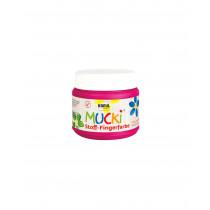 MUCKI Stoff-Fingerfarbe Pink 150 ml