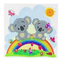 Crystal Art Card Koala