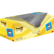 Haftnotizen Box gelb gross