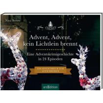 """Krimi-Adventskalender """"Advent, Advent kein Lichtlein brennt"""""""