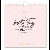 Postkartenkalender 2022 Der beste Tag