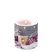 Kerze Birch Candlelight
