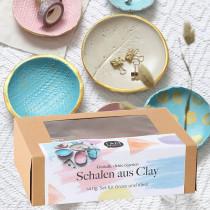 Bastelbox Schalen aus Clay